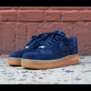 Nike Air Force One Low Women's Suede Sneaker